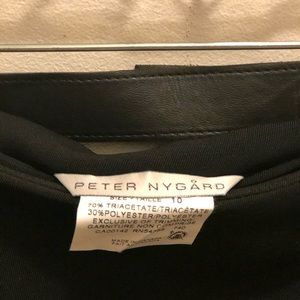 Peter Nygard Skirts - PETER NYGARD-BLACK WRAP SKIRT